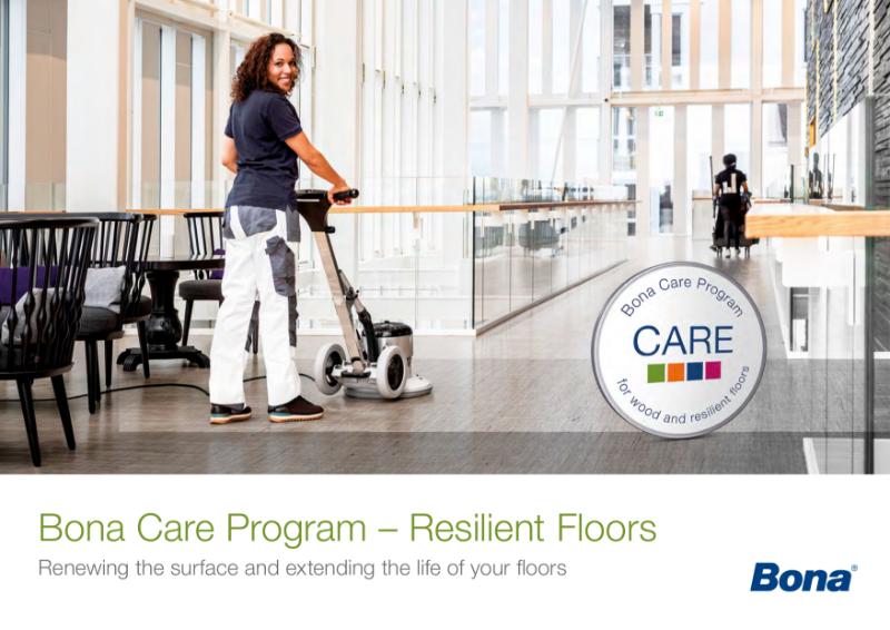 Bona Care Program - Resilient Floors