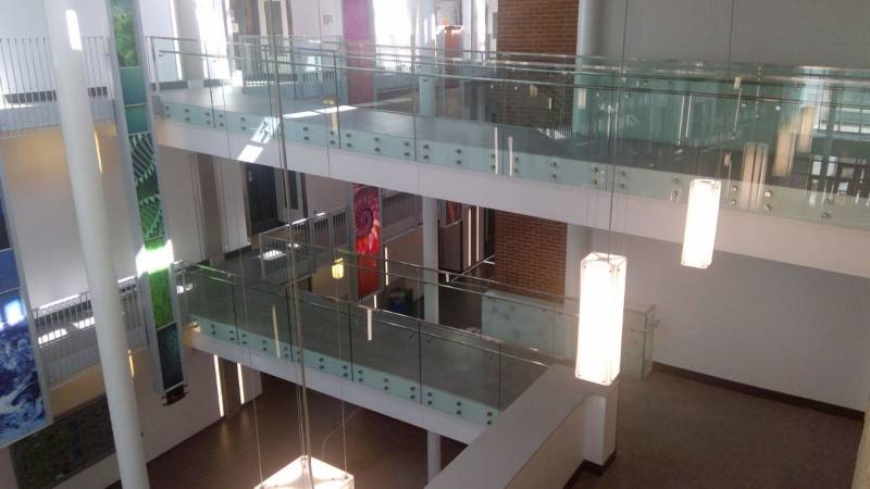 Education Science Facility selects Optik railing and balustrade system