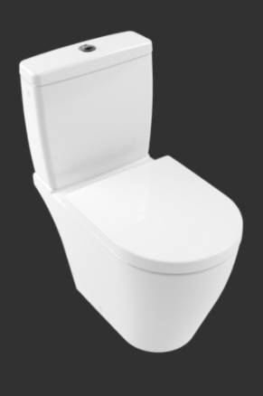 Avento Washdown WC for Close-coupled WC-suite, Horizontal Outlet 5644R0