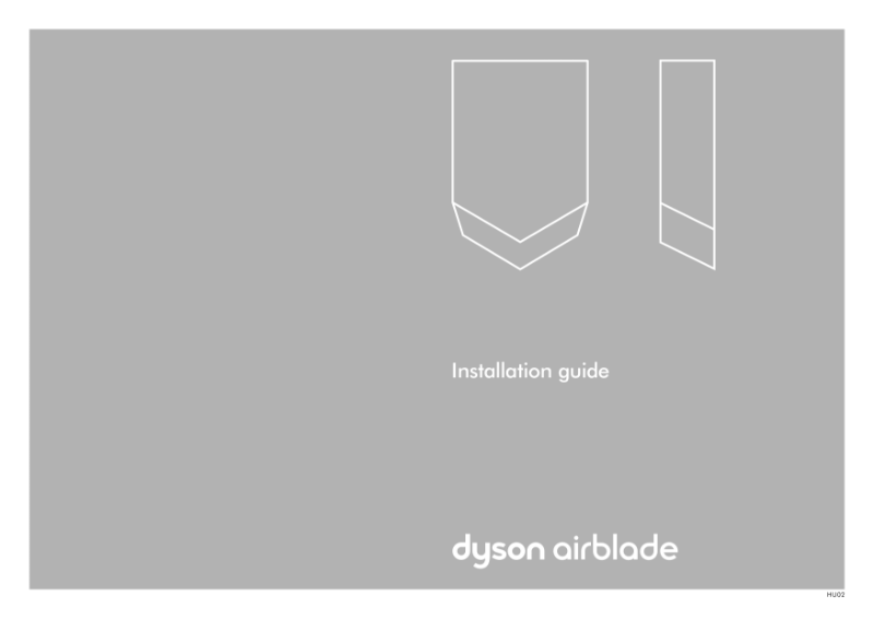 Installation guide - Dyson Airblade V
