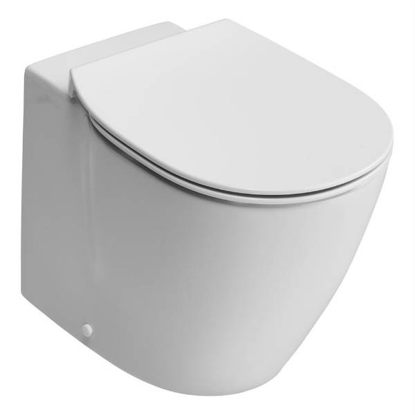 Santorini Back To Wall WC Suite with Aquablade technology