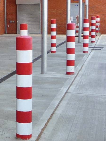 Plain Steel Bollards