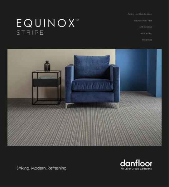 Healthcare Carpet Collection - Equinox Stripe