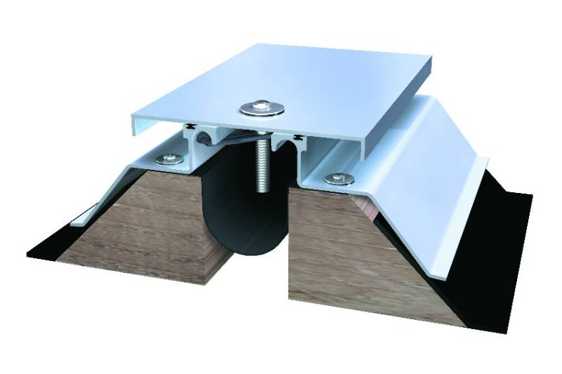 661 Series Roof to Wall Expansion Joint System