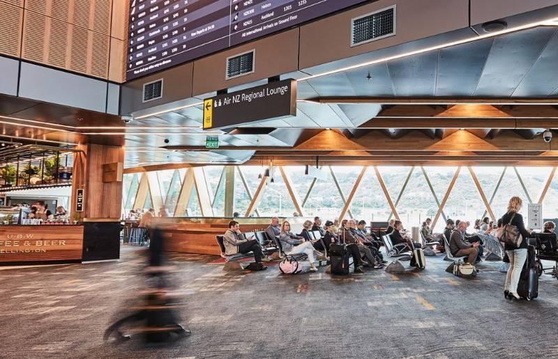 Wellington International Airport, NZ