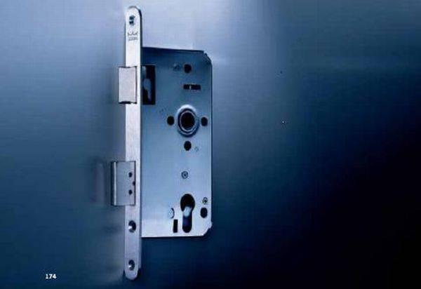 Latch and bolt lock – narrow stile
