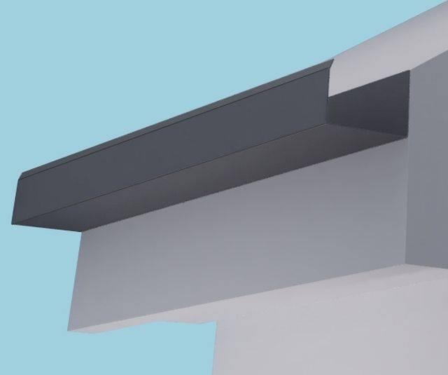 Dales System 75 Aluminium Gutter