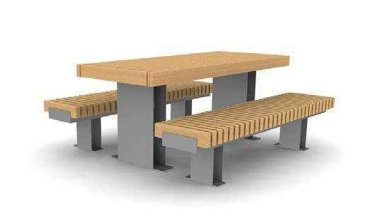 ·RailRoad Picnic Benches and Table