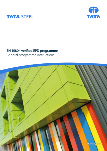 EPD General Programme Instructions
