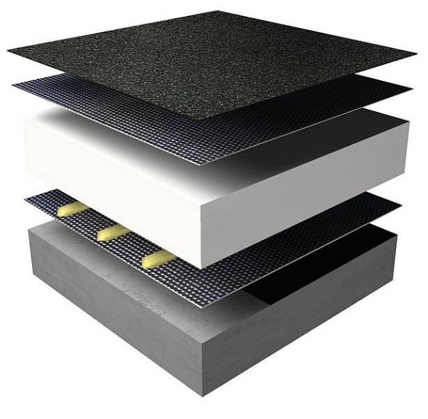 Excel Spot Warm Roof Waterproofing System - Tapered