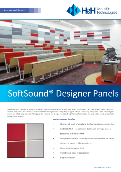Acoustic Designer Panels