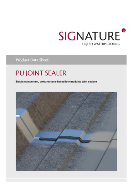 SIGnature PU Liquid Waterproofing Joint Sealer Datasheet