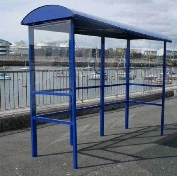 Open Fronted Smoking Shelter
