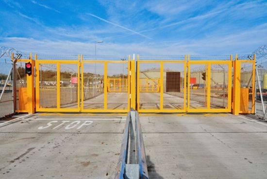 Automatic Bi-folding Speed Gates