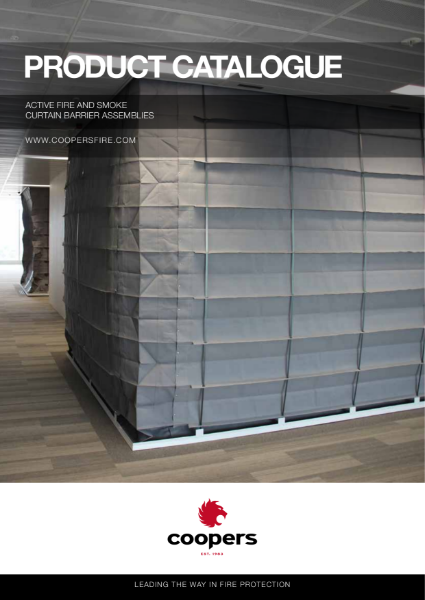 Coopers Fire Fire and Smoke Curtains Product Catalogue