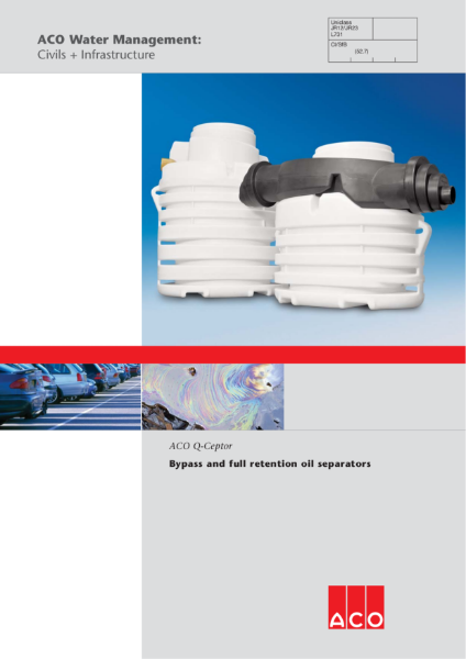ACO Q-Ceptor brochure