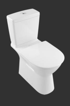 ViCare Washdown WC, Horizontal Outlet 4620H7