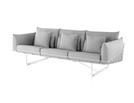 Wireframe Sofa - Three Seat