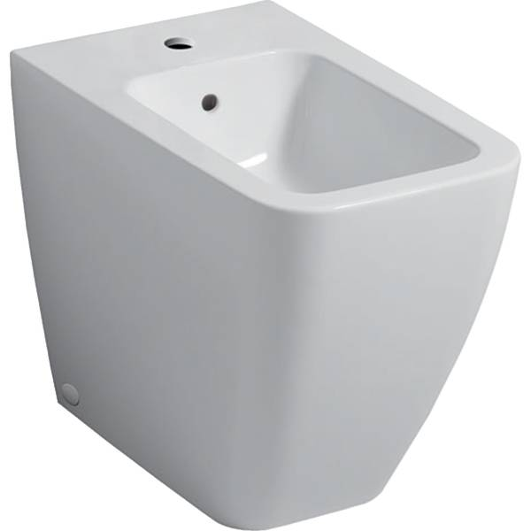 iCon Square floor-standing bidet, back-to-wall, shrouded
