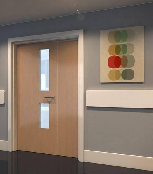 Trovex Hygidoor - Leaf-and-a-Half Door Set