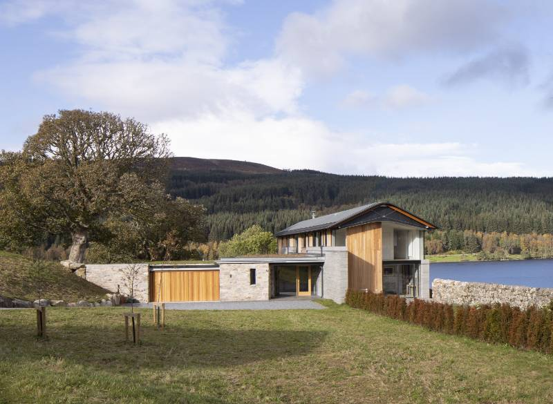 Elegant form and functional excellence for dramatic new Perthshire residence