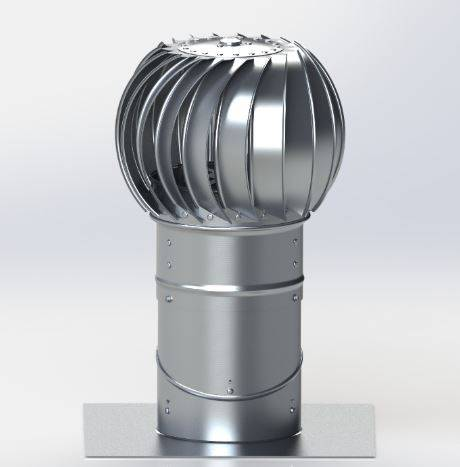 Lomanco Turbine BIB8
