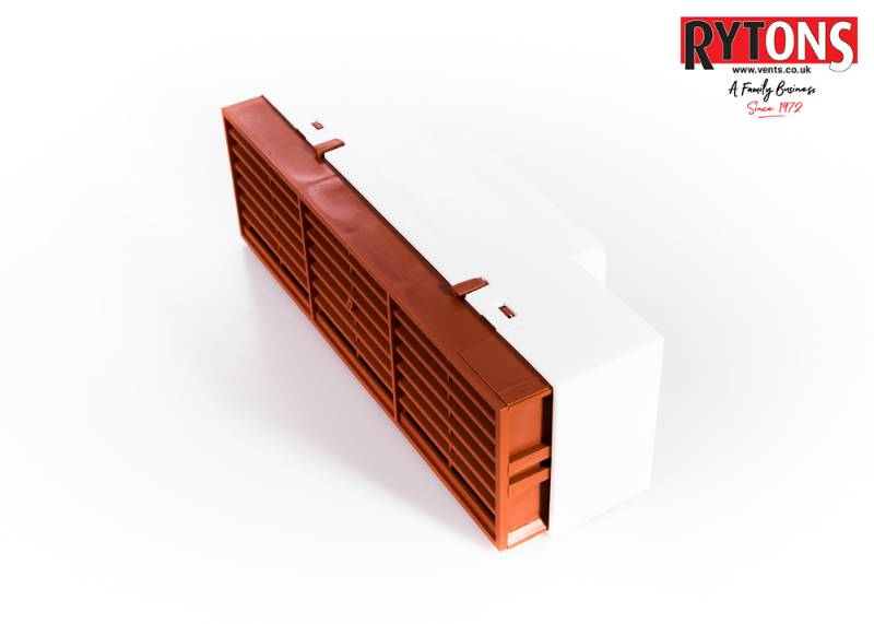RD4MFAB - Rytons Multifix® Air Brick with Ducting Adaptor 110mm x 54mm