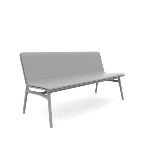 Axyl Bench - Upholstered Inner Shell