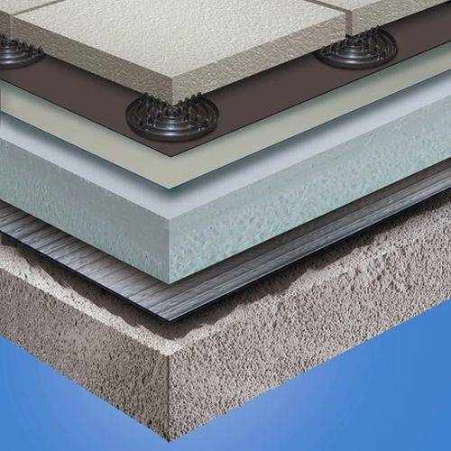 Sika-Trocal SGmA Ballasted Roof System S-Vap 5000E SA