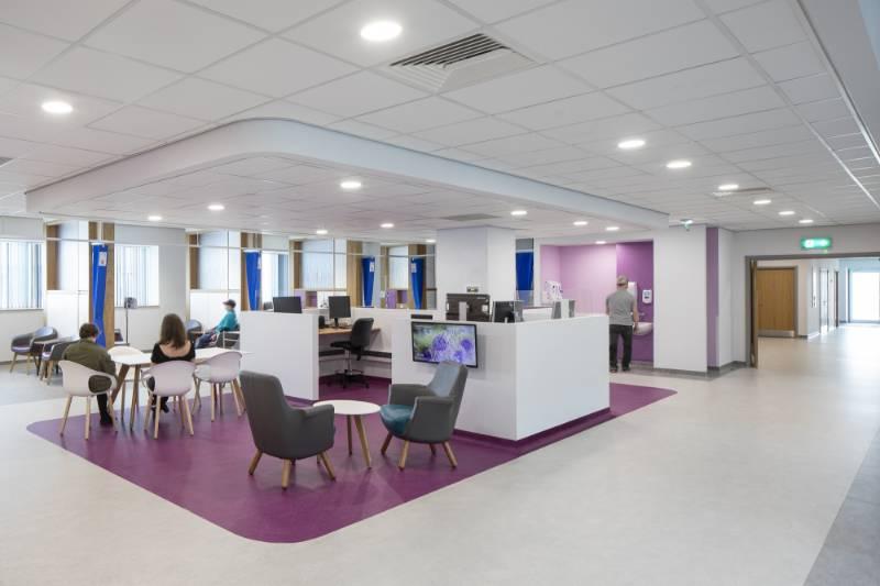 Rockfon at World-class Clatterbridge Cancer Centre – Liverpool