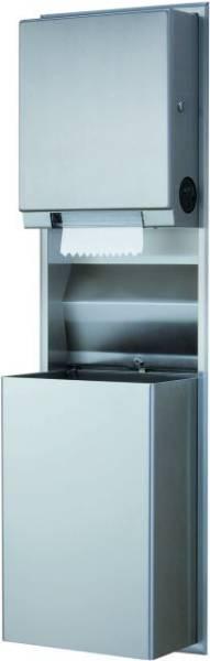 Paper Towel Dispenser and Waste Bin- B-3961, B-39617 and B-39619