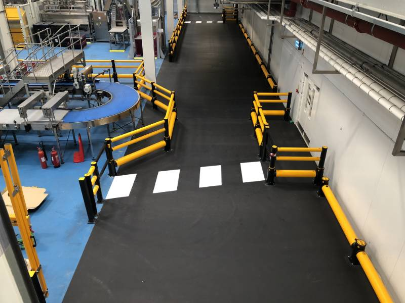 London Drinks Manufacturer has FasTop RS69 as heavy duty flooring solution
