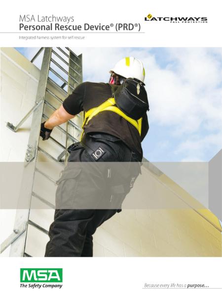 MSA Latchways Personal Rescue Device (PRD)