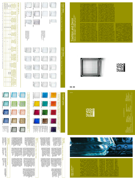 Seves Glass Block Basic Catalogue