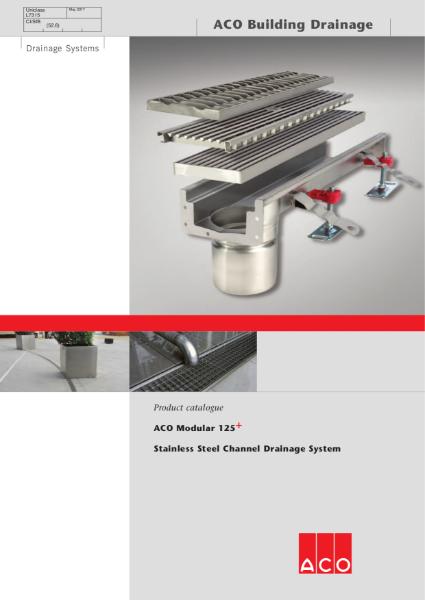 ACO Modular 125 brochure