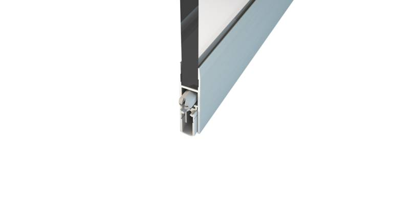 Norsound NOR870  Glass Inline Sliding Acoustic Automatic Door Bottom seal
