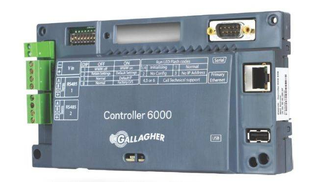 Controller 6000 for Access Control Door Readers and Electric Fence Controller