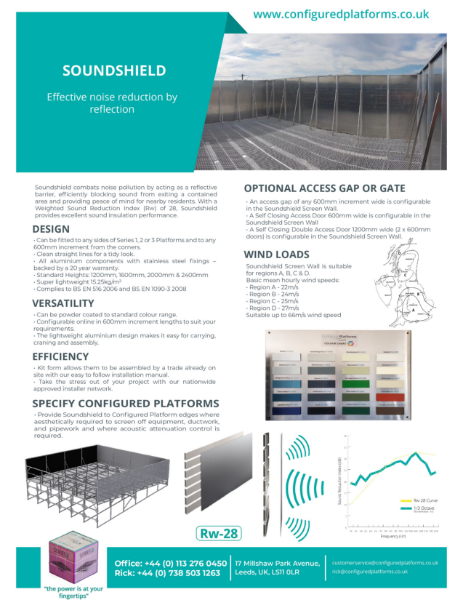 Soundshield Specification Data Sheet