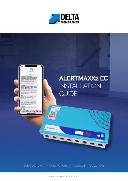 Delta AlertMaxx2 EC (High Water Level Alarm) Install Guide