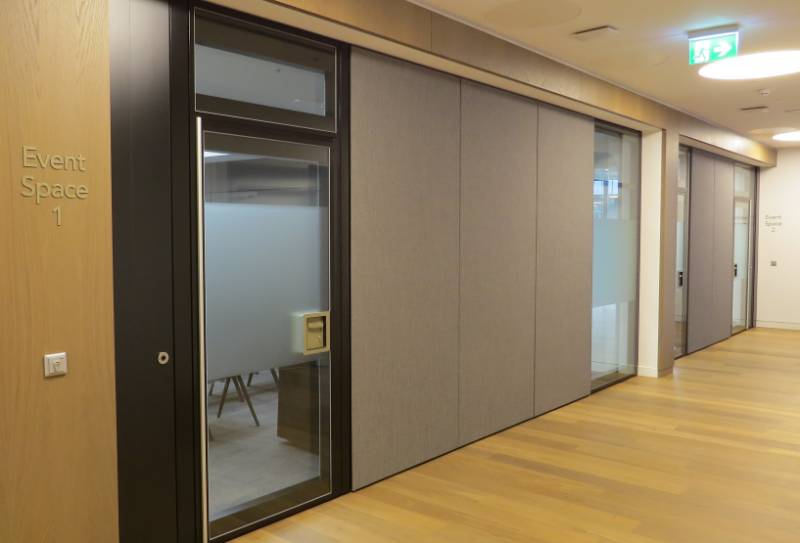 Style Upgrades Law Firm's Partitions Again