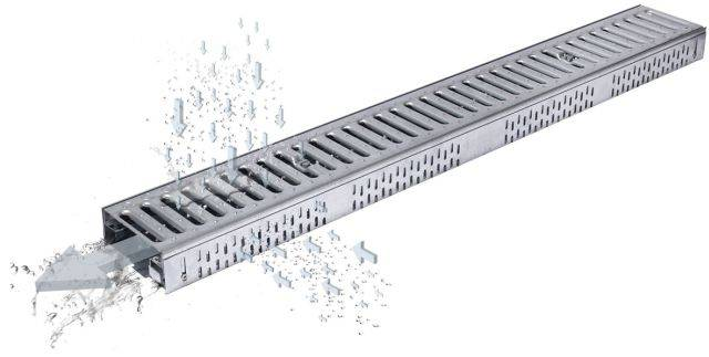 ACO FreeDeck Fixed Height Channel System