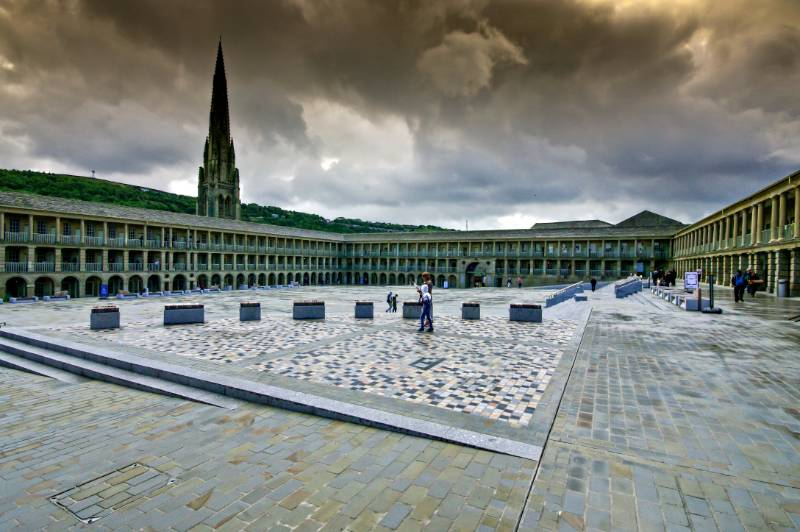 GRADE I LISTED PIECE HALL GETS THE ULTIMATE HARDSCAPE MAKEOVER