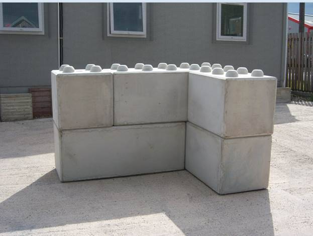 EasiWall - Retaining wall system