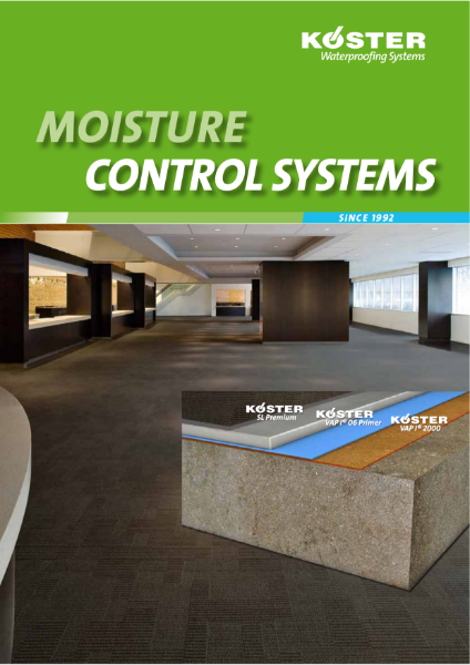 Koster Moisture Control systems