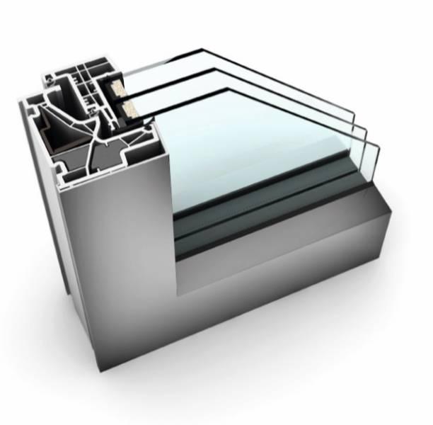KF 500 UPVC/ Aluminium Window