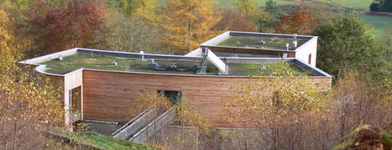 Spectraplan forms part of a stunning brown roof at Plummerswood