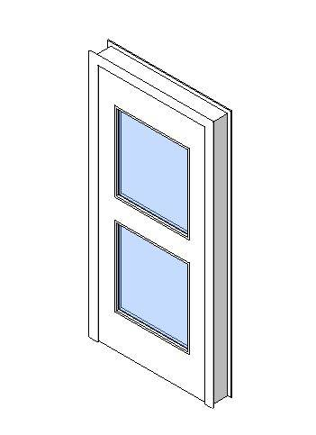 Internal Single Door, Vision Panel Style VP05