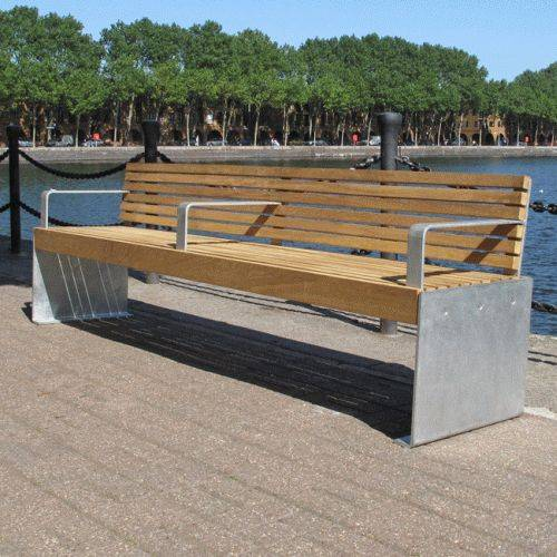 Elements Seat and Bench - Plate Ends