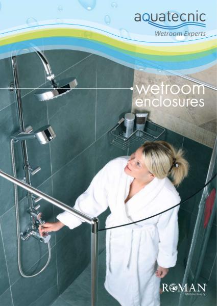 Aquatecnic Wetroom Enclosures: Roman Shower Screens