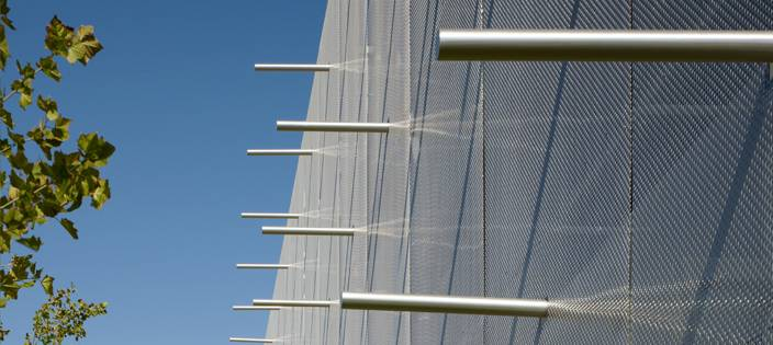 7 reasons to use architectural wire mesh for car parks